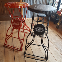 Jack Daniel's , Coca Cola , Heineken , Pepsi Bar Table And Stools